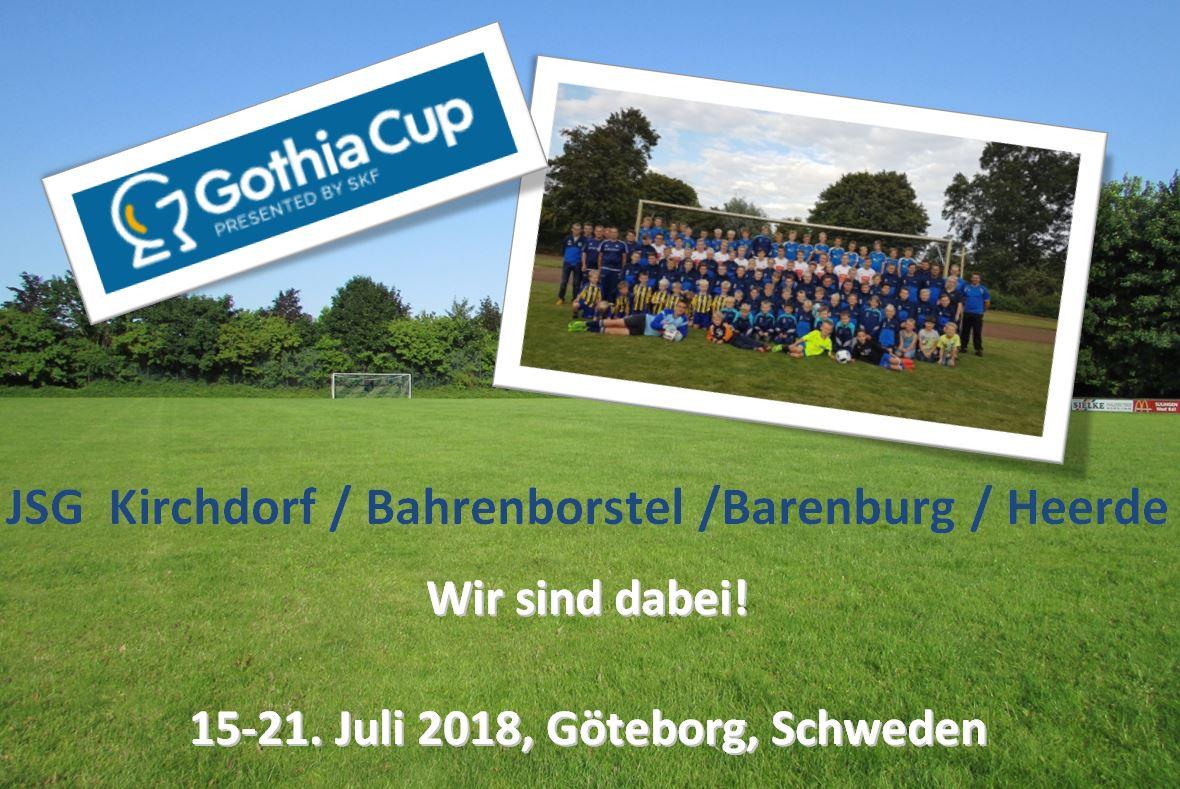 Gothia Cup Göteborg, Schweden