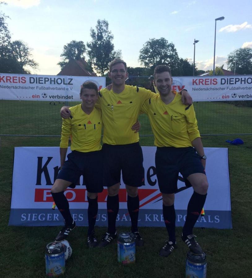 Kreispokalfinale mit Barenburger Schiedsrichterbeteiligung