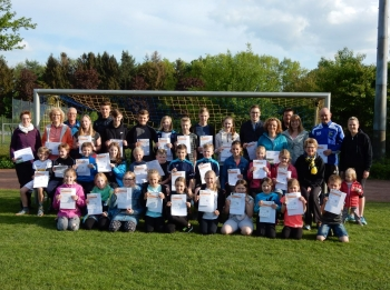 Vergabe Sportabzeichen Jugend und Familien